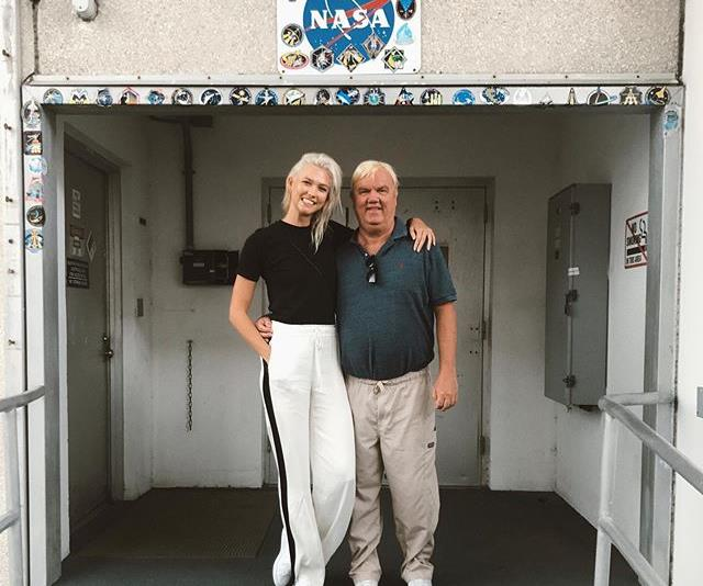 Karlie Kloss Father's Day.