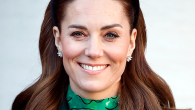 Kate Middleton Debuts A New Sleek, Straight Hairstyle Via Zoom