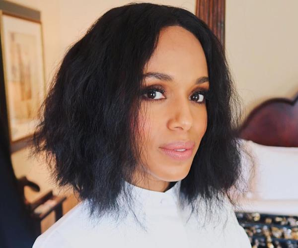 Kerry Washington with a bob hairstyle.