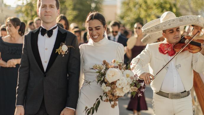 Wedding in José del Cabo, Mexico.