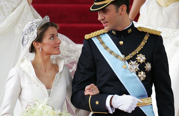 King Felipe and Queen Letizia of Spain.