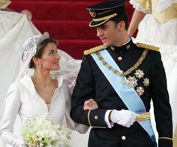 King Felipe and Queen Letizia of Spain.