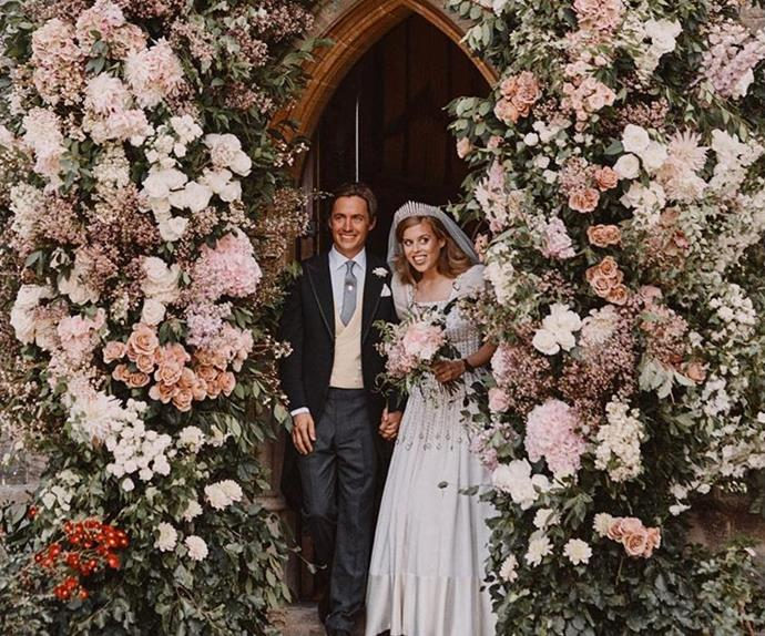 Princess Beatrice and Edoardo Mapelli Mozzi wedding.