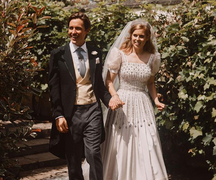 Princess Beatrice and Edoardo Mapelli Mozzi.