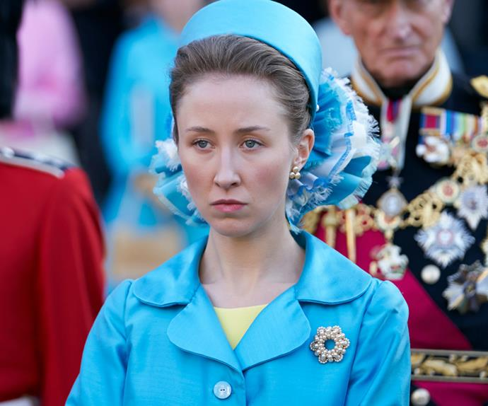 Princess Anne in 'The Crown.'