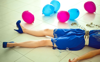 The harsh reality of dealing with a hangover with kids