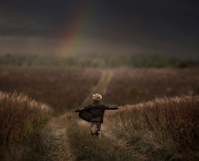 Children play in Russia  Image credit: Elena Shumilova