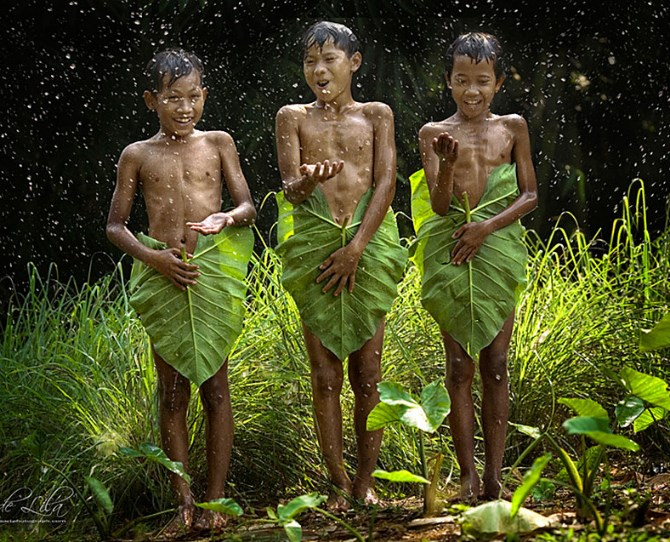 Children playing in Indonesia  Image credit: Gede Lila Kantiana