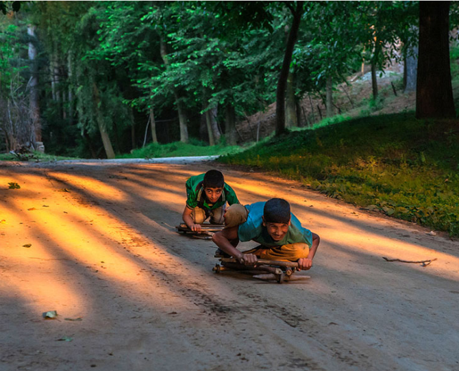 Children playing in India  Image credits: Sandee Pachetan