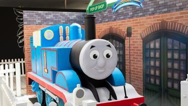 Bert Newton celebrates Thomas the Tank Engine's 70th Birthday