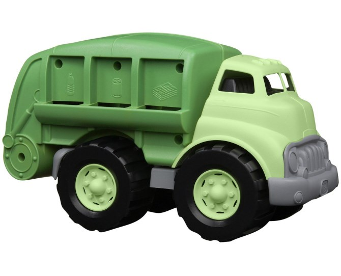 This Dr Toy Recycling Truck shares a great recycling message for eco-conscious little ones. And what happy little toddler doesn't love a big, loud garbage truck?!  $54.95 from Flying Penguin