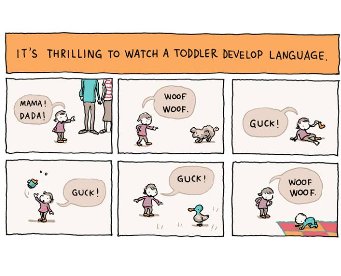 ***Toddler life: There's lots of learning and development***