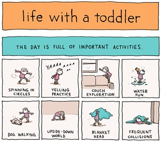 This Comic Series Perfectly Captures Life With a Toddler