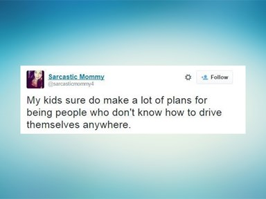 15 tweets that sum up parenting life