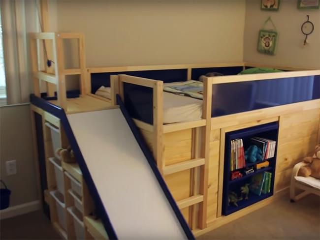 IKEA hack bed