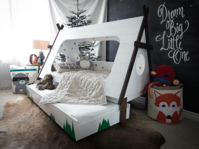 Tee Pee Bed