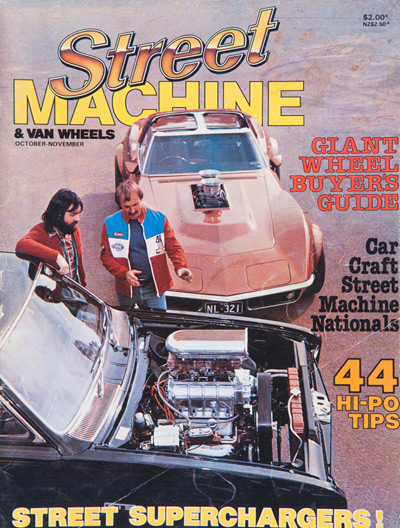 Street Machine cover