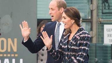 Meghan meets Kate and Wills!