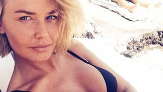 lara bingle body