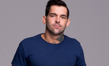 Married at First Sight's Keller has a tattoo, where?!