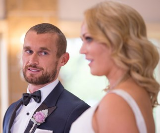 Married At First Sight's Jono Pitman and Clare Verrall