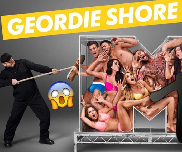 geordie shore, mtv, scripted