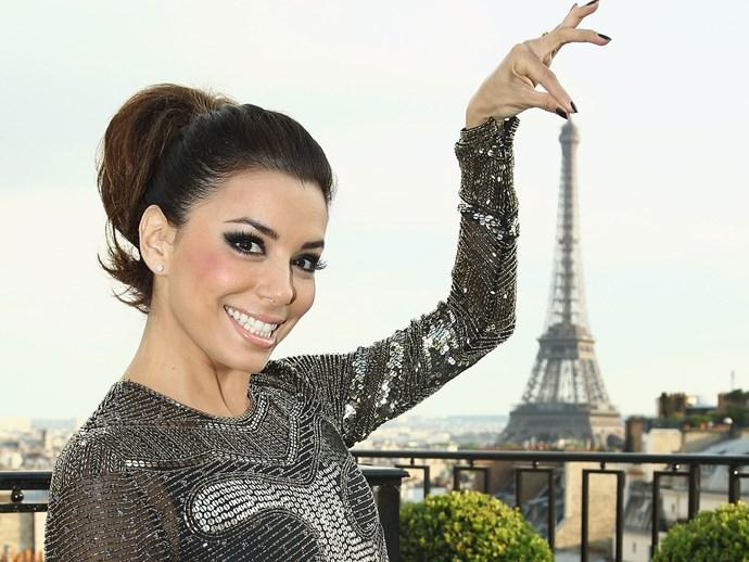 Eva Longoria in Paris