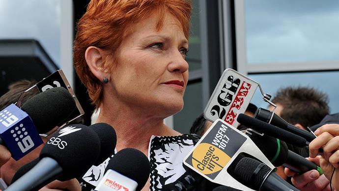 Pauline Hanson, leader of One Nation