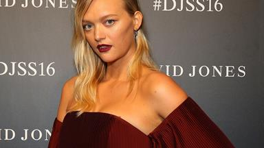 Aussie supermodel Gemma Ward welcomes a son!