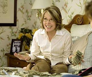 Mad Money film with Diane Keaton