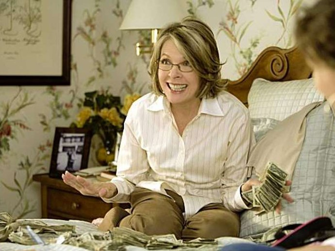 Mad Money film with Diane Keaton