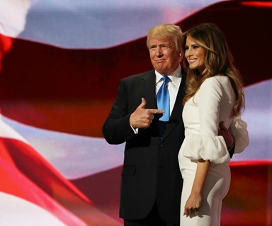 Melania Trump may not move into the White House as planned