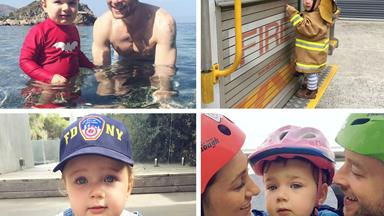 Sonny Blake's equal parts adorable and hilarious family album