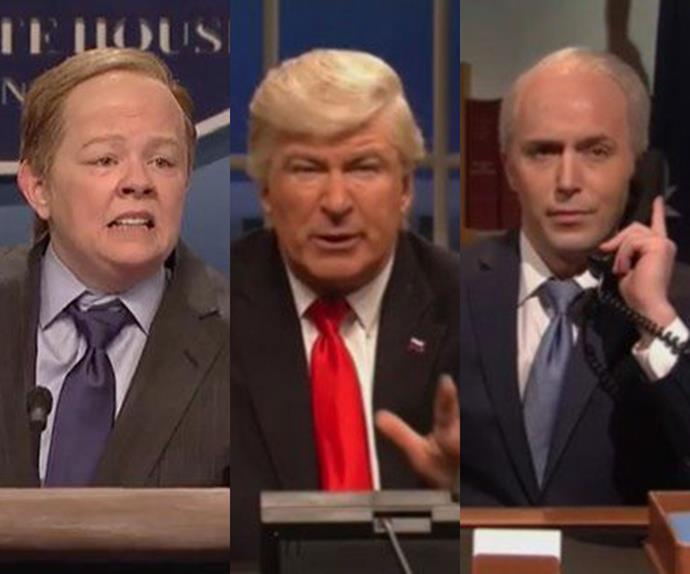 Alec Baldwin hilariously recreates Trump's phone call with Malcolm Turnbull