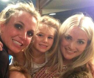 Britney Spears, Jamie Lynn Spears, Maddie Aldridge