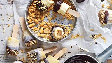 Summer's best raw chocolate-and-banana frozen treats