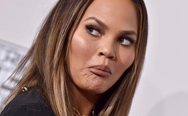 Chrissy Teigen's hilarious clap back to her Super Bowl wardrobe malfunction