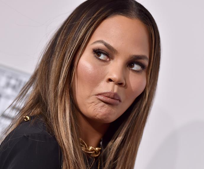 Chrissy Teigen Responds To Her Super Bowl Nip Slip  Ok -7534