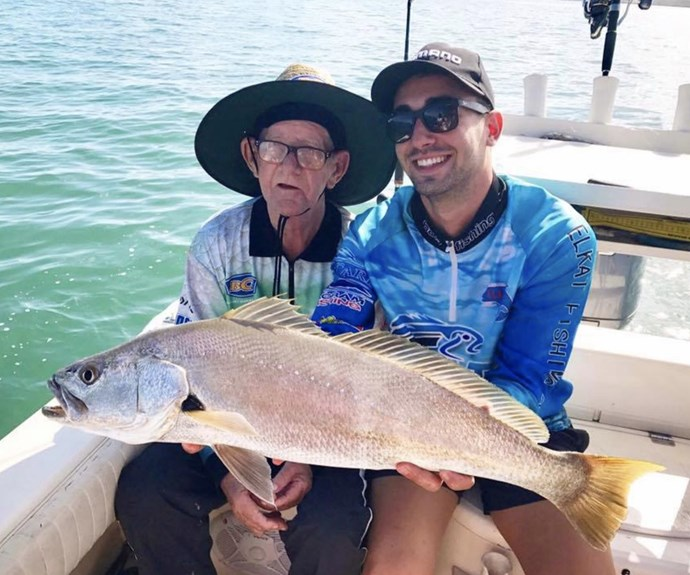 Gumtree widower finds his fishing mate