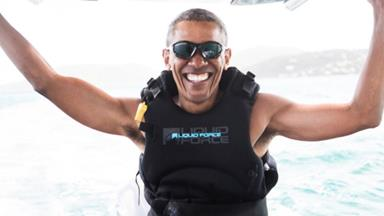 Barack Obama's epic post-White House holiday with Richard Branson