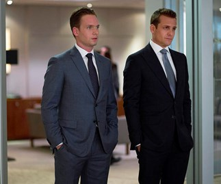 Mike & Harvey on Suits
