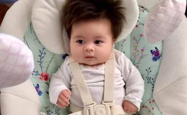Babies who were born with SO MUCH hair