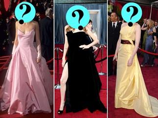 Oscars red carpet quiz