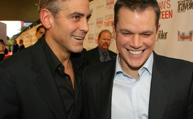 "Matt Damon ""almost started crying"" over George Clooney's happy baby news"