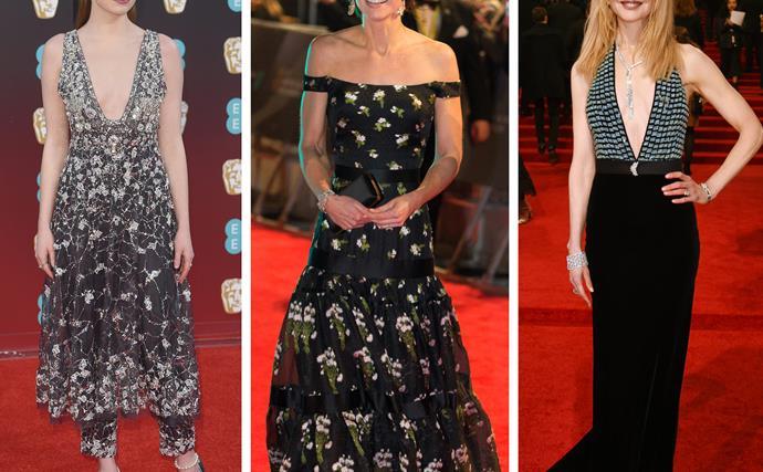 Emma Stone, Duchess of Cambridge, Nicole Kidman