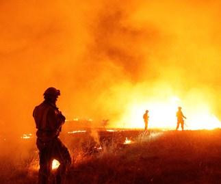 NSW bushfires, NSW heatwave