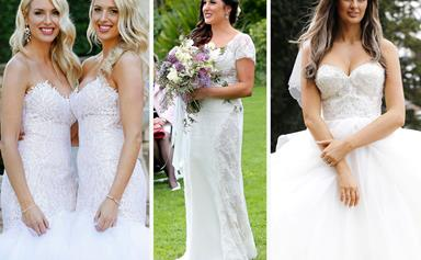 The good, the bad and the what were they thinking!? The MAFS wedding dresses, ranked