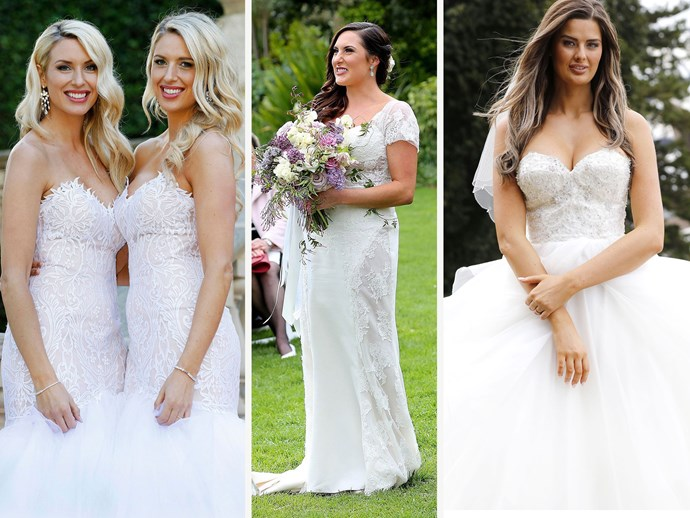 Married at First Sight Australia wedding dresses