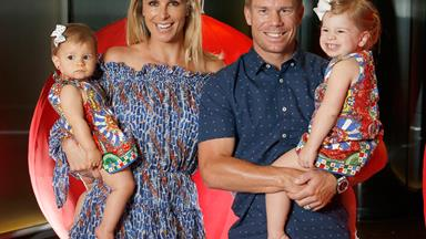 Candice Warner wants you to know it's OK to swap the club for the couch