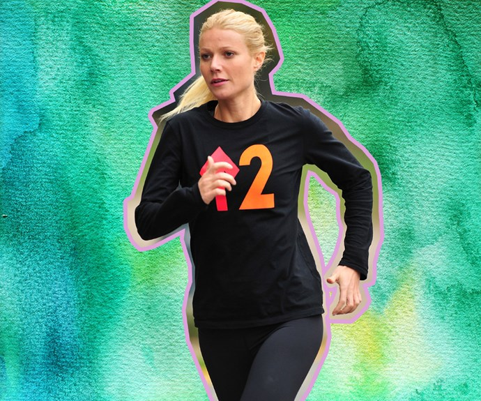 Gwyneth Paltrow running